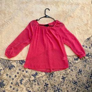 Cynthia Rowley textured blouse